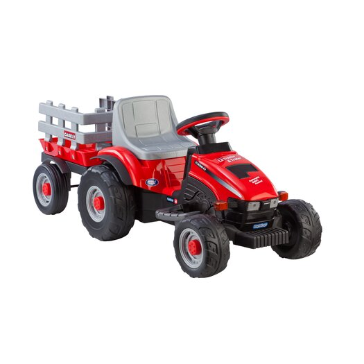 Peg Perego Case IH Lil Tractor and Trailer