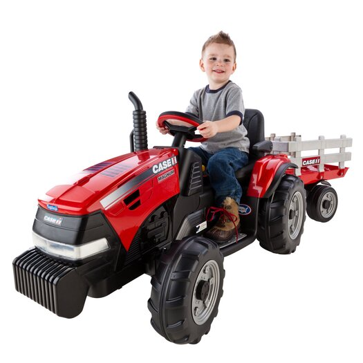 Peg Perego Case IH Magnum 12V Battery Powered Tractor