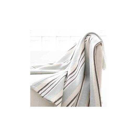 Dash and Albert Rugs Vanilla Woven Cotton Throw