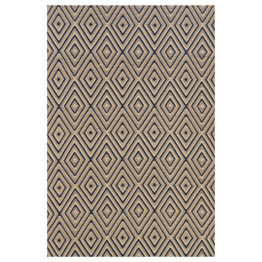 Dash and Albert Rugs Woven Brown Diamond Indoor/Outdoor Area Rug