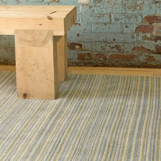 Dash and Albert Rugs Tufted Brindle Sea Stripe Area Rug