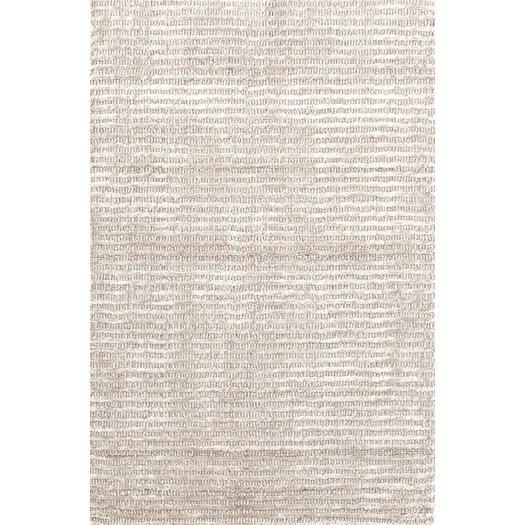 Dash and Albert Rugs Cut Stripe Ivory Area Rug