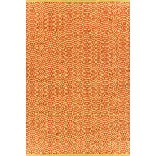 Dash and Albert Rugs Fair Isle Paprika/Curry Geometric Area Rug