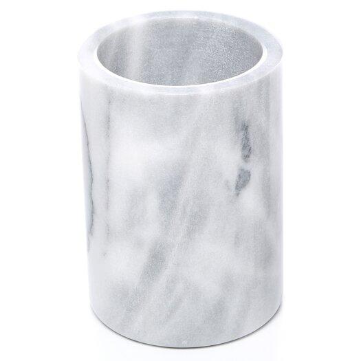 Fox Run Craftsmen Marble Utensil Holder in White