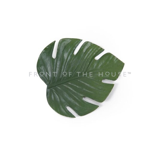Front Of The House Philodendron Leaf Coaster