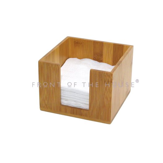 Front Of The House Bamboo Napkin Holder