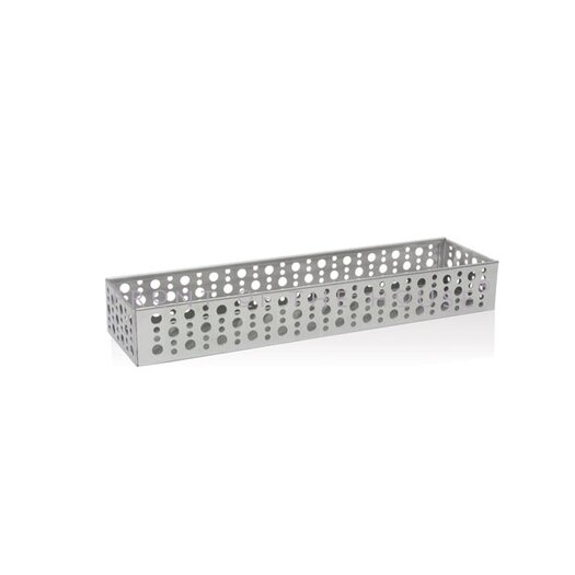 Front Of The House Stainless Steel Dots Long Jar Holder