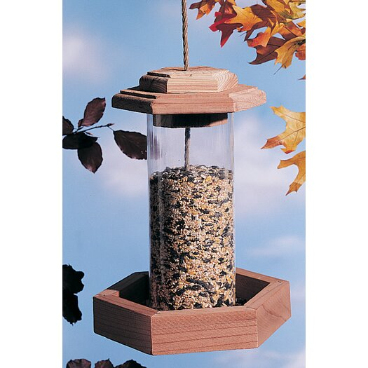North States Circular Hopper Bird Feeder