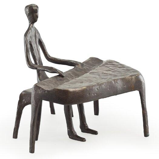 Danya B Piano Player Sculpture