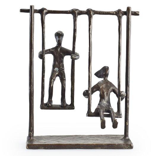 Danya B Children on Swings Sculpture
