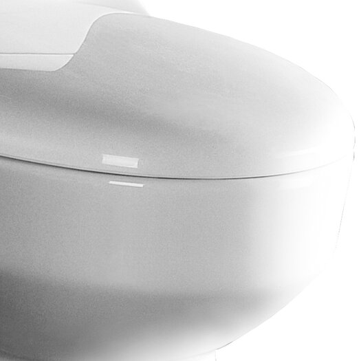 Ariel Bath Athena Contemporary 1.6 GPF Elongated 1 Piece Toilet