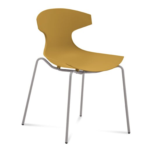 Echo Armless Office Stacking Chair (Set of 2)