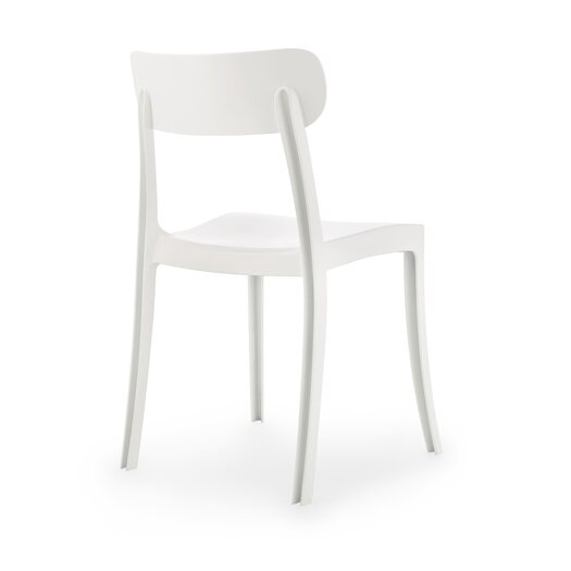New Retro Armless Office Stacking Chair (Set of 4)