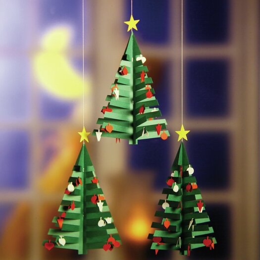 Flensted Mobiles Christmas Calendar Tree Mobile