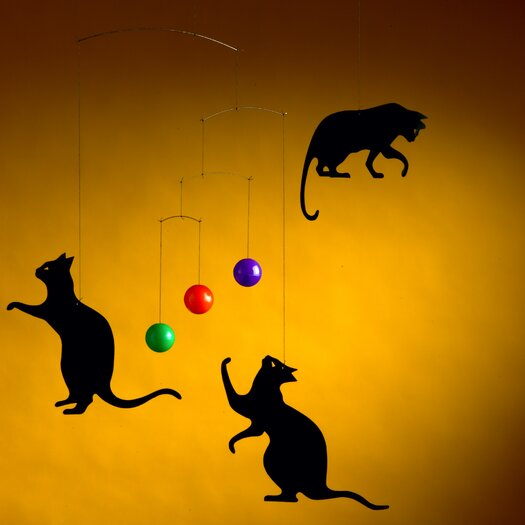 Flensted Mobiles Feline Fun Cat Mobile