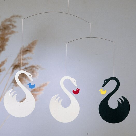 Flensted Mobiles Swan Fantasy Mobile
