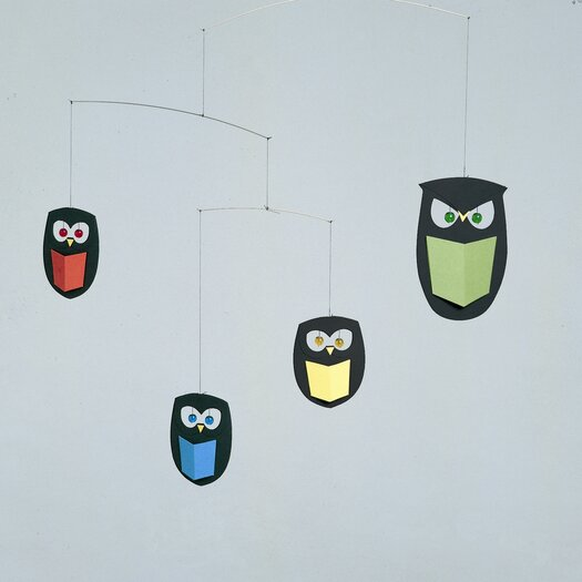 Flensted Mobiles The Wisest Owls Mobile