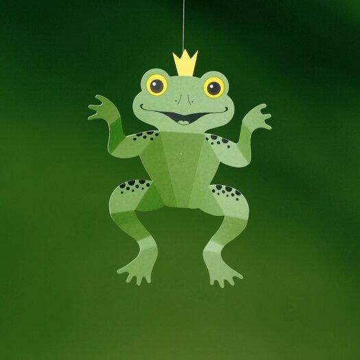 Flensted Mobiles Happy Frog King Mobile