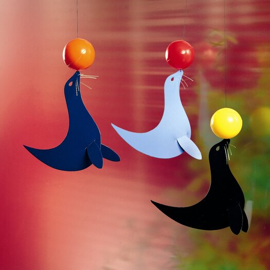Flensted Mobiles Three Happy Sealions Mobile