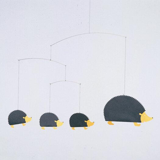 Flensted Mobiles Hedgehog Family Mobile