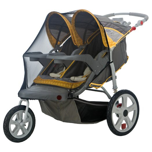 InSTEP Accessory Double Swivel Wheel Stroller Bug Cover