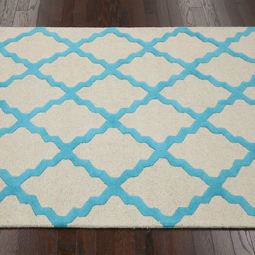 nuLOOM Moderna Turquoise Moroccan Trellis Area Rug