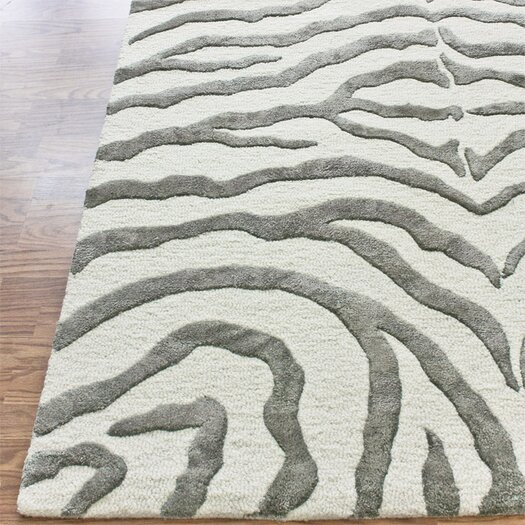 nuLOOM Earth Soft Zebra Grey Area Rug