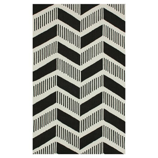 nuLOOM Trellis Black Shelly Area Rug