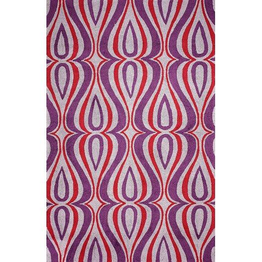 nuLOOM Uzbek Purple Luciano Rug