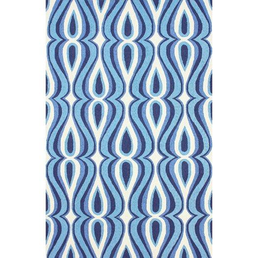 nuLOOM Uzbek Blue Luciano Rug