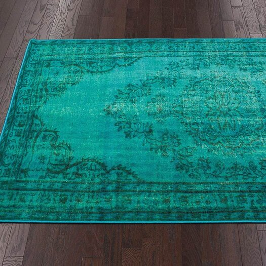 nuLOOM Remade Turquoise Area Rug