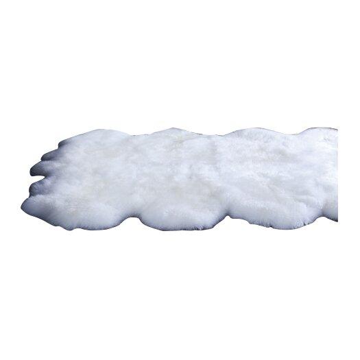 nuLOOM Shag White Area Rug II