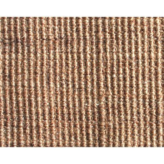 nuLOOM Sisal Sand & Black Border Rug