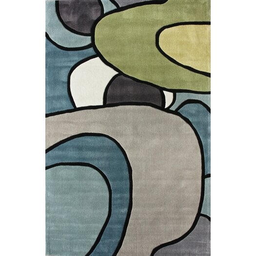 nuLOOM Cine  Swoop Multi Area Rug