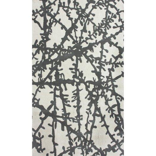 nuLOOM Pop Sticks Ivory&Gray Area Rug