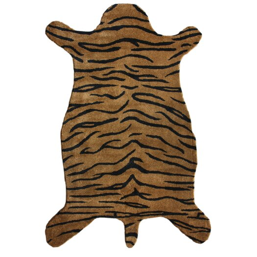 nuLOOM Safari Tiger Brown Area Rug