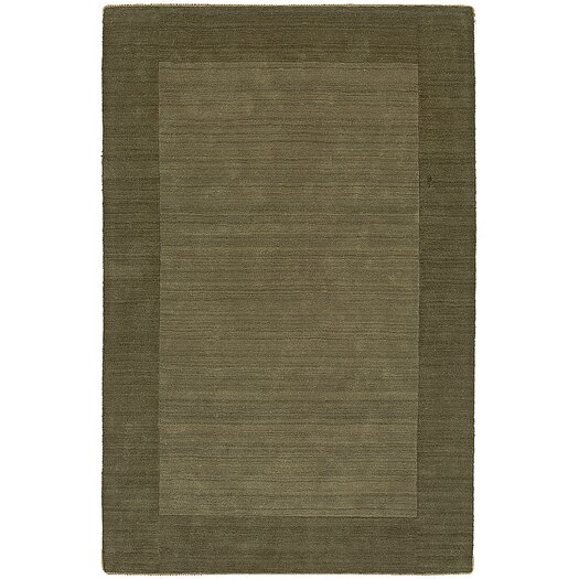 nuLOOM Bella Solid Border Green Area Rug