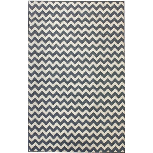 nuLOOM Poise Chevron Light Blue Area Rug