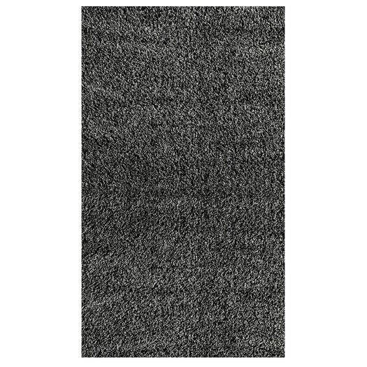 nuLOOM Shaggy Black/Grey Area Rug