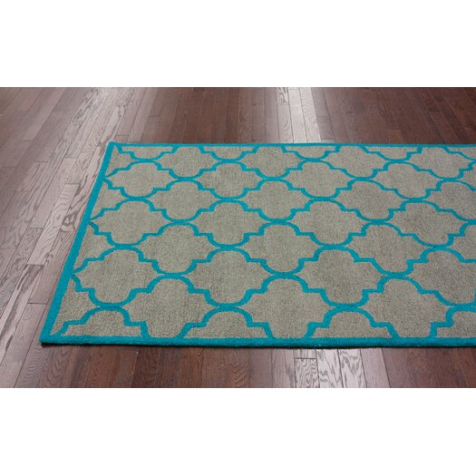 nuLOOM Fancy Madeline Grey/Blue Area Rug