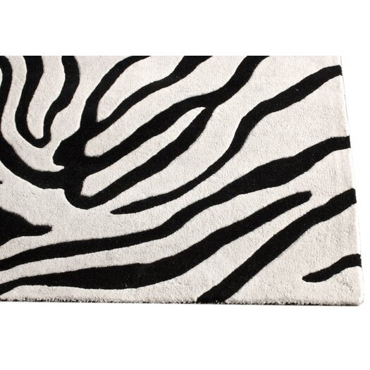 nuLOOM Earth Black/White Madagascar Area Rug