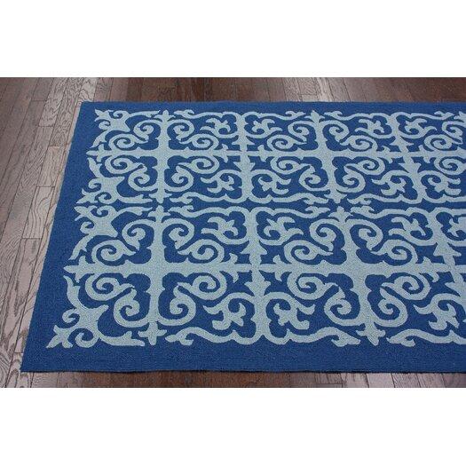 nuLOOM Homestead Dark Blue Celine Area Rug