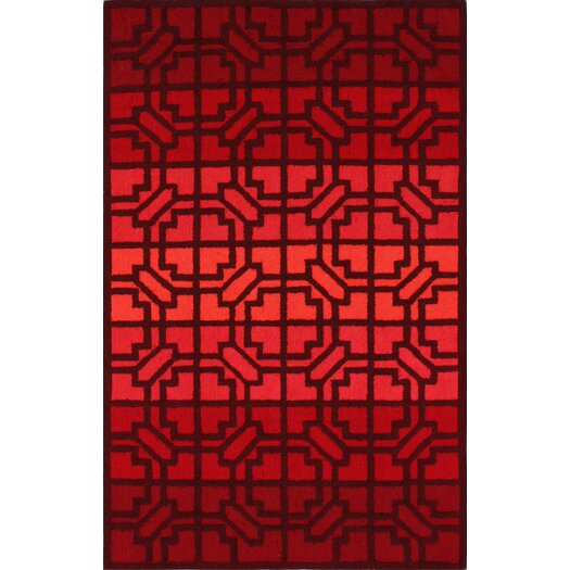 nuLOOM Trellis Fire Red Wendy Area Rug