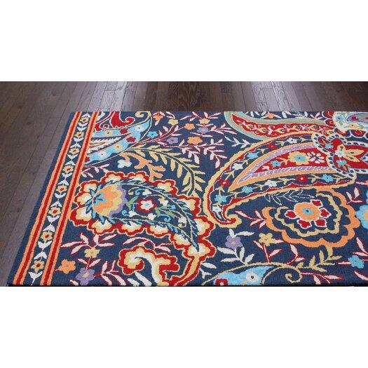 nuLOOM Moderna Multi-Colored Paisley Area Rug