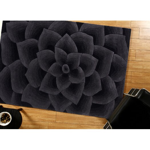 nuLOOM Bordeaux Charcoal Gol Area Rug