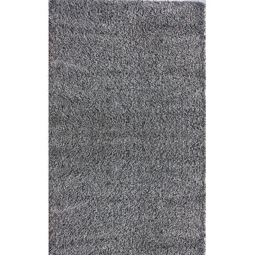 nuLOOM Shag Grey Plush Area Rug