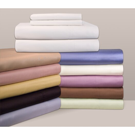 Pointehaven 310 Thread Count Solid Sheet Set