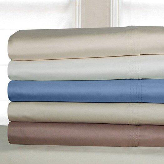Pointehaven Luxury Pima Cotton 600 Thread Count Sheet Set