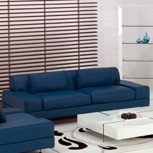 Star International Flat Leather Sofa