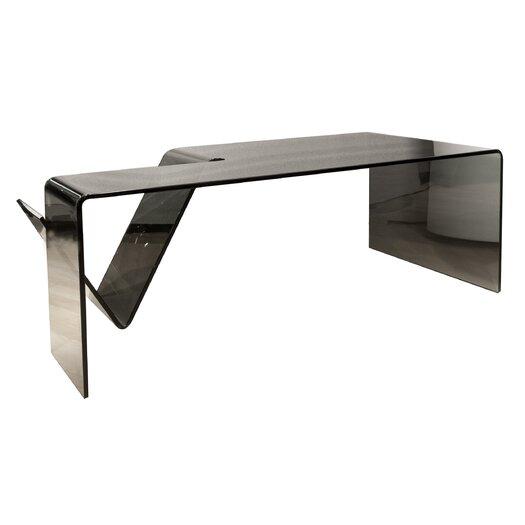 Star International Gomito Bent Coffee Table with Magazine Shelf